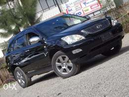 Toyota Harrier black colour 2010 model loaded edition mint condition