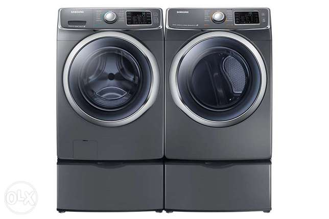 Heavy Duty Samsung Front-Load Washer and Electric Front-Load Dryer Lavington - image 2