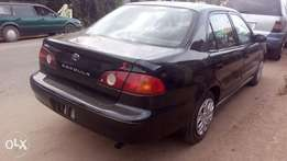 Tokunbo Toyota corolla 2001 Good condition