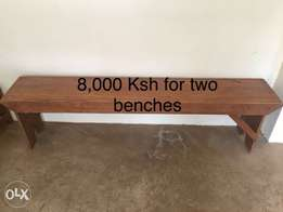 2 benches