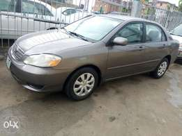 Neatly used corolla 2003 model