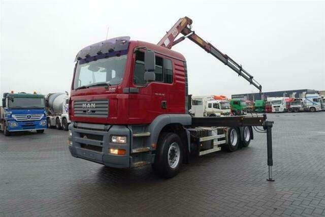 MAN Tga28.310 6x2 Crane/kran Hmf 1220 K4 Ual Euro - 2006 - image 11
