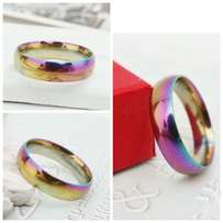 Rainbow colourful Ring