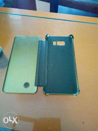 Samsung S8 Plus Clear view cover Ikeja - image 4