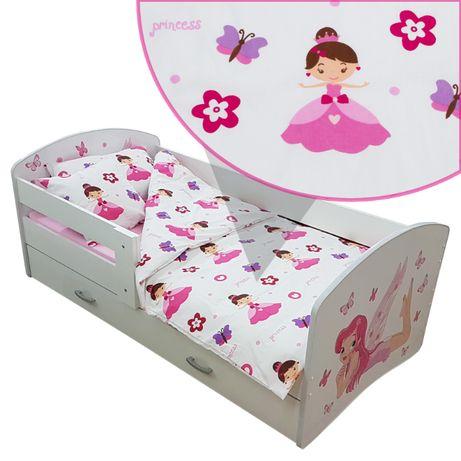 Pościel Dla Dziewczynki Zestaw 7 Element Na łóżko 160x80