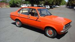 Ford Escort 1.6 GL 1976. Lovingly restored. Collectors Item.