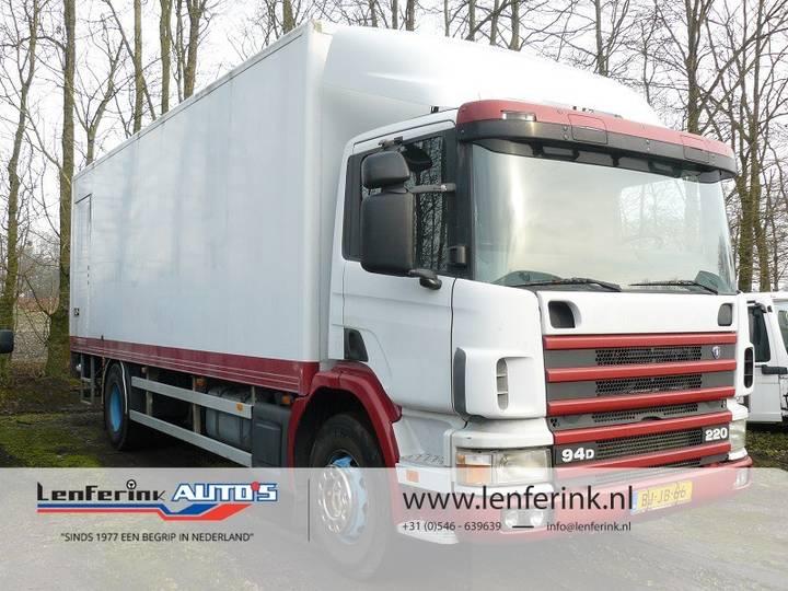 Scania P94D Bakwagen Box Kastenwagen Dhollandia Laadklep - 2000