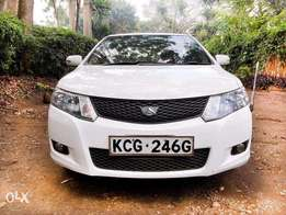 Toyota Allion white in color lady used