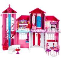 Barbie Malibu DreamHouse with moving stair-lift