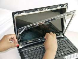 Broken screen and laptop repairs while you waiting