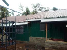 Newly built 1/2 houses.Very spacious Available clean water supply Cont