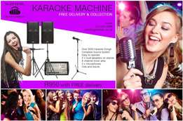 Karaoke System Hire for sale  Table View