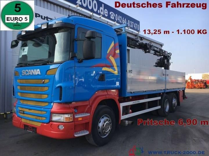 Scania R400 Tirre Euro 191L 9m=1,7t. 7m Ladefl. 1.Hand - 2010
