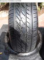 2x tyres Discoverer Cooper Zeon 235/50/18,As new!!