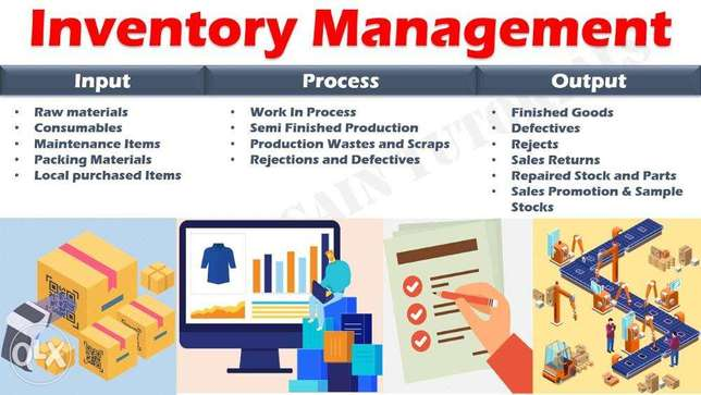 will create a web based inventory management and erp system