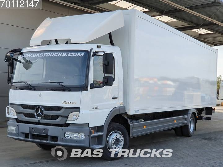 Mercedes-Benz Atego 1218 L 4X2 Perfect-condition Ladebordwand Euro 5 - 2013