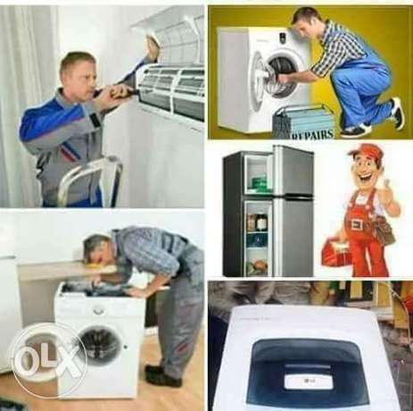 Ac fridge and washing machine repair and service