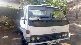 A very well maintained toyota dyna for sale .