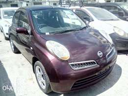 March. Nissan march,maroon. Hire purchase