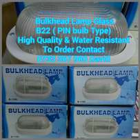 Bulkhead lamp fitting Glass