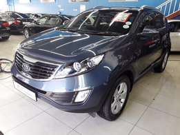 2012 Kia SPORTAGE 2.0 CRDi Manual (blue)