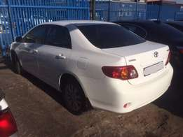 Toyota Corolla Professional Being Stripped For Spares