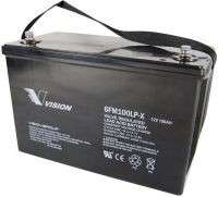 Vision Fully-Sealed Deep Cycle 12V 100AH Battery