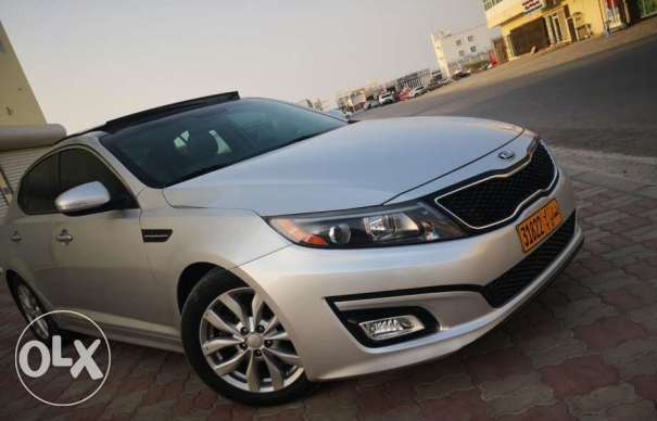 Kia Optima EX Automatic 4 Cylinder Silver GCC Spec 2014 very clean and