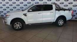 2012 Ford Ranger 3.2 TDCi XLT Double Cab Automatic,