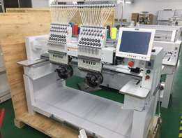 2017 2 Head 15 Needles High Speed Embroidery Machines