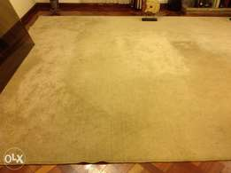 Assorted carpets printed and plain