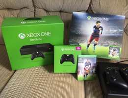 WOW we have brand new xbox one 500gb with games