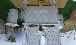 Stretch tent and deco