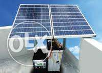 Do you have used Solar panel, inverter and batteries ?