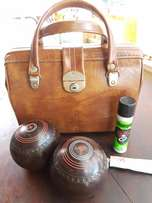 Bowls Bag with 4 Balls J 2299