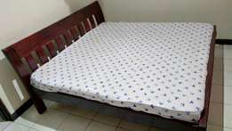 King Size Bed with Mattress fro Sale!!!