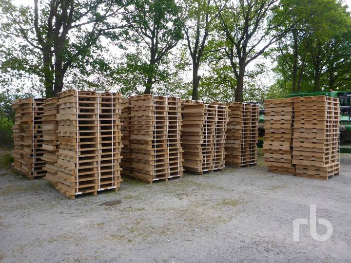 Qty Of 630 Pallets