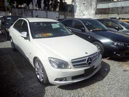 Mercedes C200 White KCL Kompressor