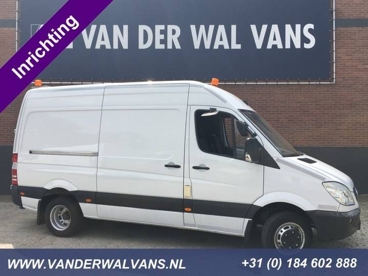 Mercedes-Benz Sprinter 519CDI 3.0 V6 L2H2 Airco Camera Inrichting - 2010