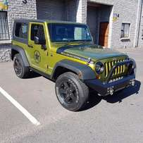 2009 Jeep Wrangler Rubicon 3.8 Manual 2door