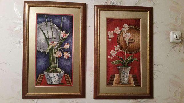 Орхідеї вишивка хрестиком картини. Орхидеи вышивка крестом Тернополь -  изображение 1 dd540e5302159