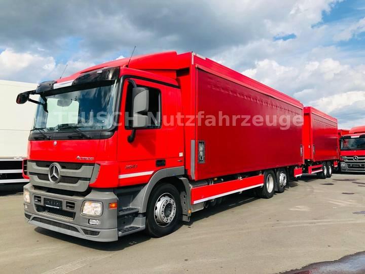 Mercedes-Benz ACTROS 2541 u002F 2 x LBW u002F KOMPLETTZUG - 2013