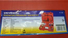 Radiator pressure test kit