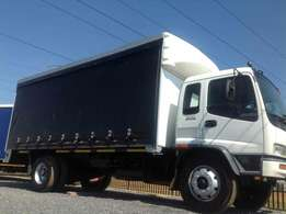 Isuzu ftr800 turbo curtain body on special