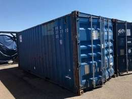 6m containers certified and plated ready to be shipped in sizes of 20f