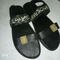 Simple male sandals