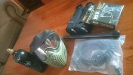 BT4 Paintball Marker with extras