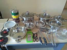 supper quality Egyptian kitchen appliances (33 pieces)