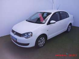 2016 Vw Polo Vivo 1.4 Sedan R159500