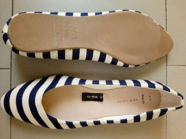 Striped Suede Tass Shoes Kosofe - image 3